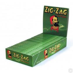 ZIG-ZAG GREEN PAPER 25 S
