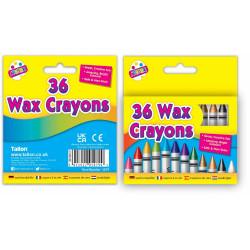 36 Wax Crayons