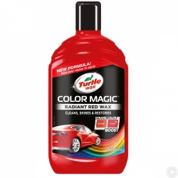 TURTLE WAX COLOR MAGIC 500ML - JET RED WAX