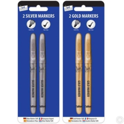 2 Gold & Silver Markers