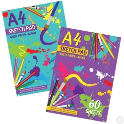 A4 60 Sheet Sketch Pad