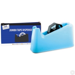 Jumbo Tape Dispenser, Black, red, blue Assd red, blue Assd