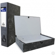 Box File with document clip
