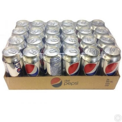 DIET PEPSI CANs  330MLx24 CANS