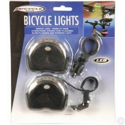 BICYCLE LIGHTS FRONT/REAR LED