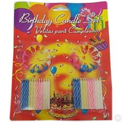 BIRTHDAY CANDLE SET 48PCS