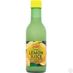 KTC LEMON JUICE 12x250ML - NO VAT