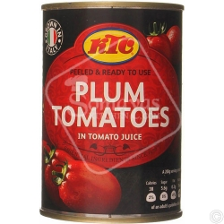 KTC PEELED TOMATOES 12x400G - NO VAT
