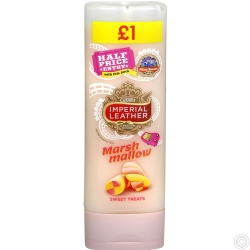 IMP/LEATHER SHOWER GEL 250ML PMP£1 - MARSH MALLOW