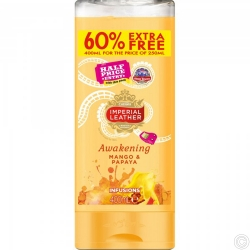 IMPERIAL LEATHER SHOWER GEL 400ML - AWKENING