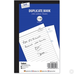 DUPLICATE BOOK - FULL SIZE, 80 SETS