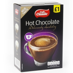 CAFE CLASSIC ASSORTED - HOT CHOCOLATE *12PACK*