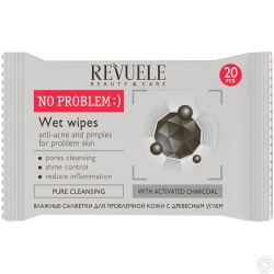 REVUELE NO PROBLEM WET WIPES 20s