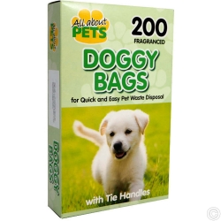 FRAGRANCED DOGGY BAGS 200PCS