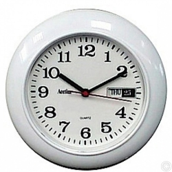 ACCTIM ROUND DAY/DATE MINDER CLOCK