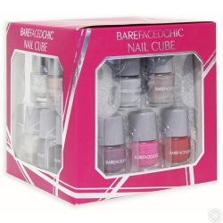 BAREFACED CHIC NAIL CUBE SET