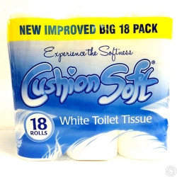CUSHION SOFT T.TISSUE 18ROLLSx3