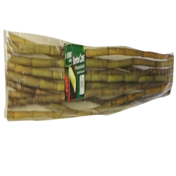 Pack of 10 220cm bamboo canes