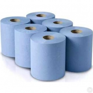 BLUE CENTRE FEED JUMBO ROLLS 6P