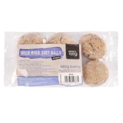 6 Pack of Suet Fat Balls