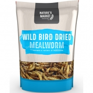 500g Pouch Dried Mealworm