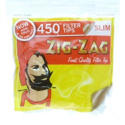 ZIG-ZAG SLIM FILTER TIPS 450PC