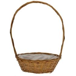 Hollywood Golden Round Basket (12 inch)