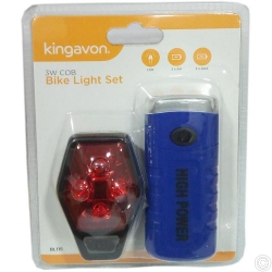 KINGAVON 3W COB BIKE LIGHT