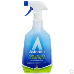 Germ Clear Disinfectant Straight to Surface 750ml