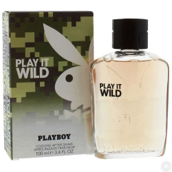 PLAYBOY AFTER SHAVE/PERFUME 100ML - PLAY IT WILD