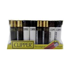CLIPPER CLASSIC BLACK/GOLD  40 PACK