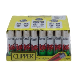 CLIPPER 40PCS LIGHTER ASSORTED DESIGN - DRAGON