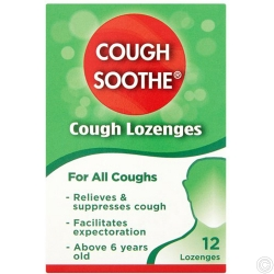 COUGH SOOTHE LOZENGES 12s  **7PK**