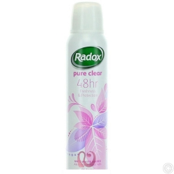RADOX ANTI-PERSPIRANT DEO 150ML - PURE CLEAR