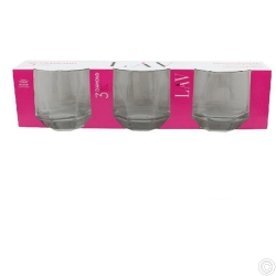 GURALLAR 3PCS WHISKY GLASSES 310CC