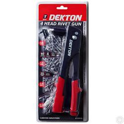 DEKTON 4 HEAD RIVET GUN