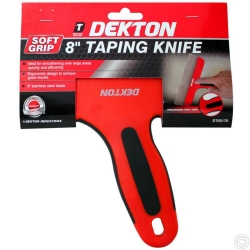 DEKTON 200MM SOFTGRIP TAPING KNIFE