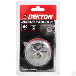 DEKTON DISCUS PADLOCK 60MM