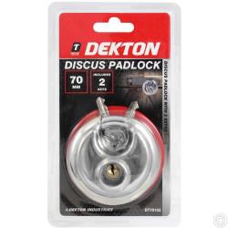 DEKTON DISCUS PADLOCK 70MM
