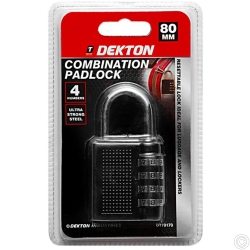 DEKTON COMBINATION PADLOCK
