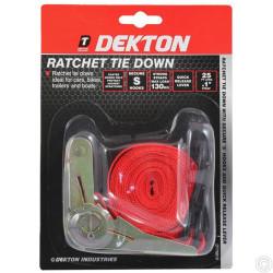 DEKTON RATCHET TIE DOWN