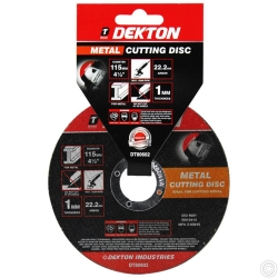 DEKTON 115MM CUTTING DISC METAL ULTRA THIN FL