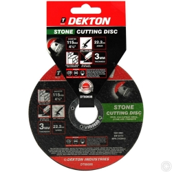 DEKTON 115MM CUTTING DISC STONE RAISED NORMAL