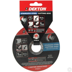 DEKTON 115MM CUTTING DISC STAINLESS STEEL ULT