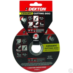 DEKTON 115MM CUTTING DISC CERAMIC ULTRA THIN