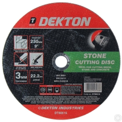 DEKTON 230MM CUTTING DISC STONE RAISED NORMAL