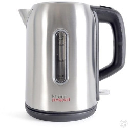 KitchenPerfected 2.2Kw 1.7Ltr Cordless Kettle - Brushed Steel