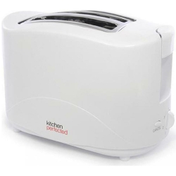 KitchenPerfected 2 Slice Toaster - White