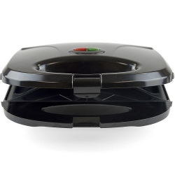 KitchenPerfected 2 Slice Sandwich & Omlette Maker - Black