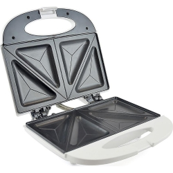 KitchenPerfected 2 Slice Sandwich & Omlette Maker - White